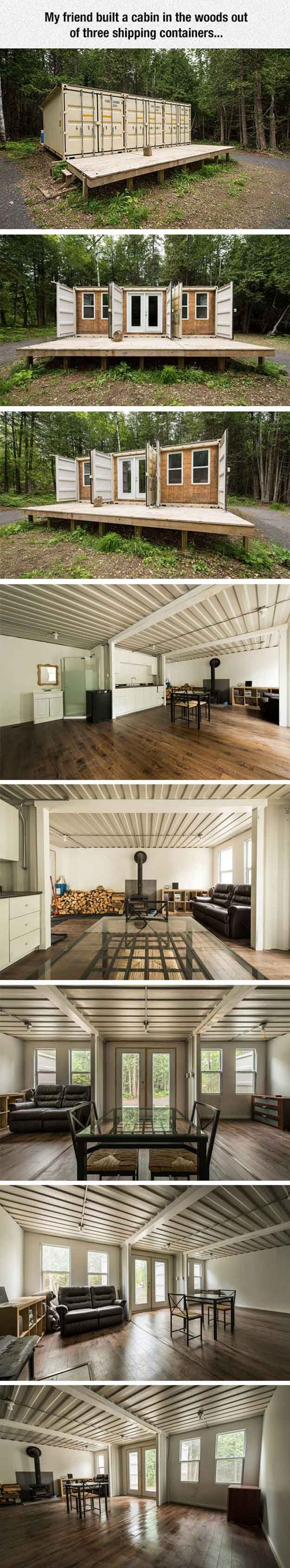 Cool Shipping Container Cabin 12 Cool