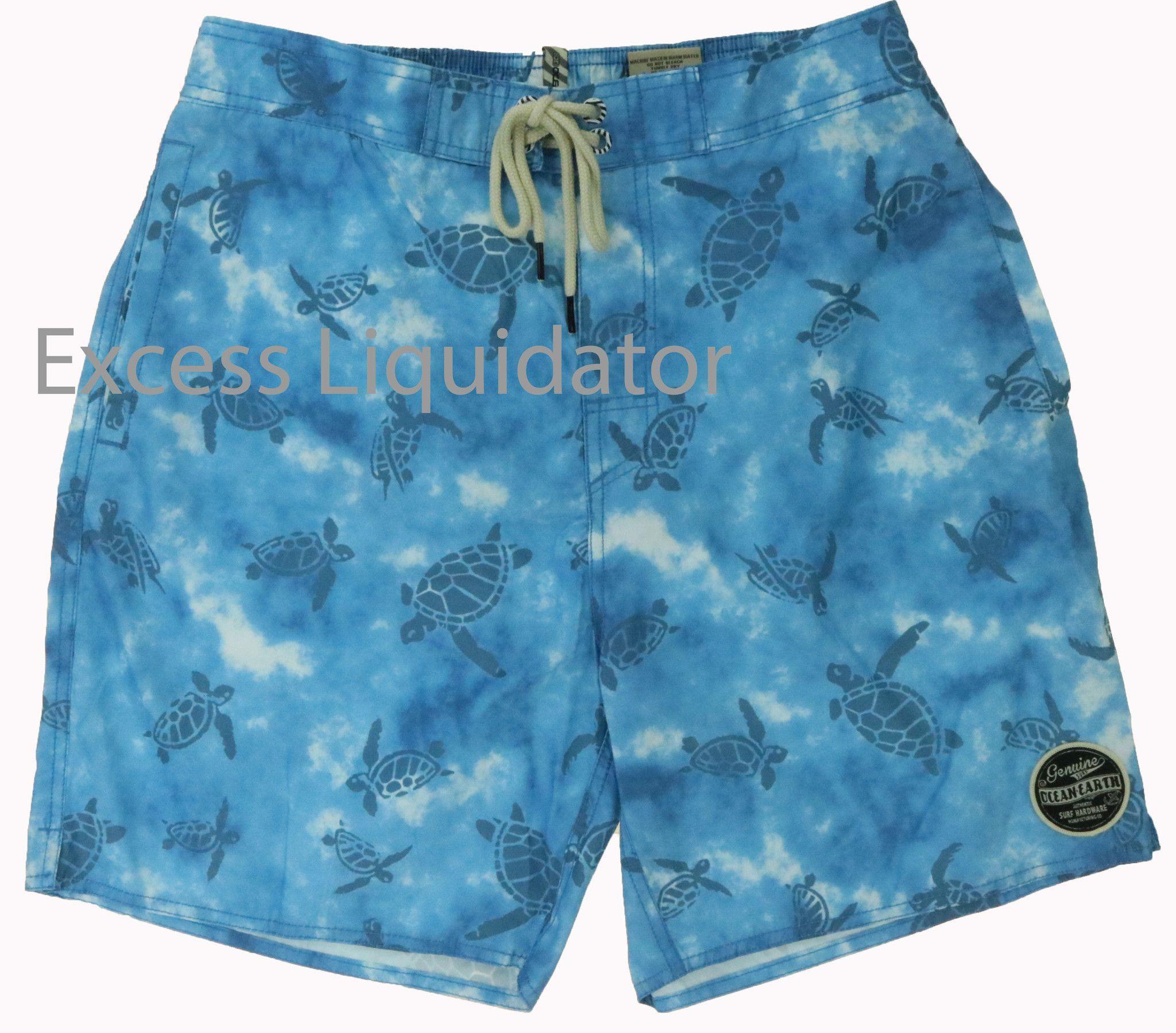 Ocean & Earth Surf Apparel Men's Swim Trunk Shorts mi-tiles.com