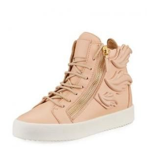 Giuseppe Zanotti Shell Wings Leather High-Top Sneakers - 51% Off | Amazing  0nline Shopping! | Pinterest | Giuseppe zanotti, High top sneakers and  Leather ...