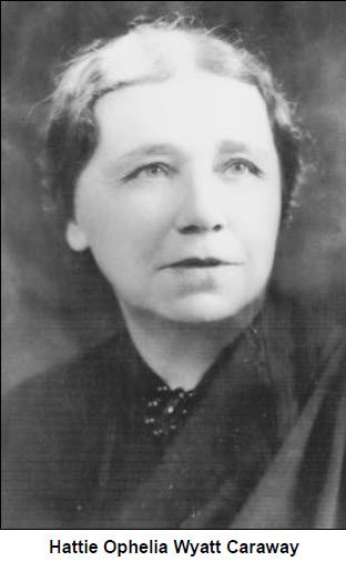 First woman elected to serve in the U. Senate in Something not to be  considered at the time. Served from 1931 to