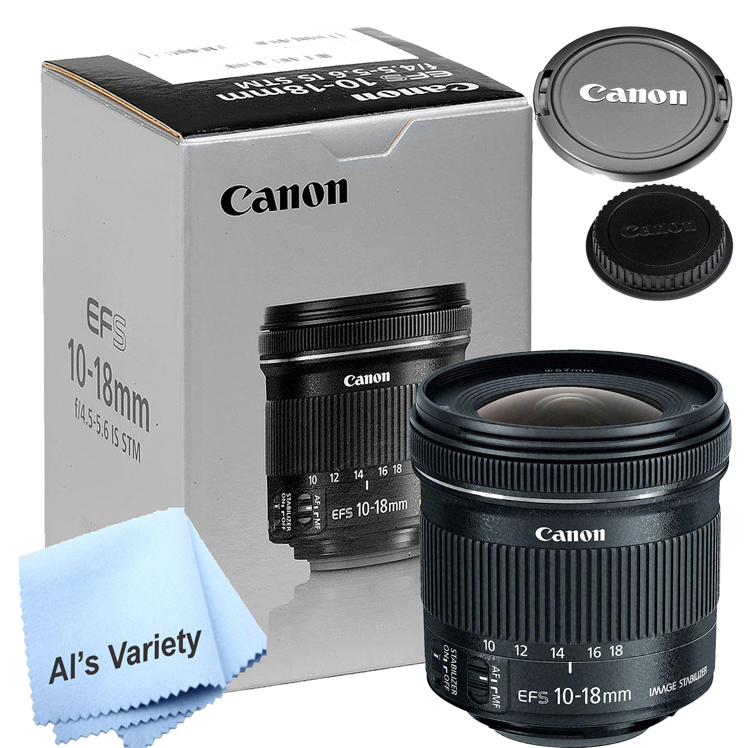 Canon 1018mm F 4 55 6 Is Stm Lens New Retail Box W Free Microfiber Cleaning Cloth You Can Get More Clean Microfiber Microfiber Cleaning Cloths Retail Box