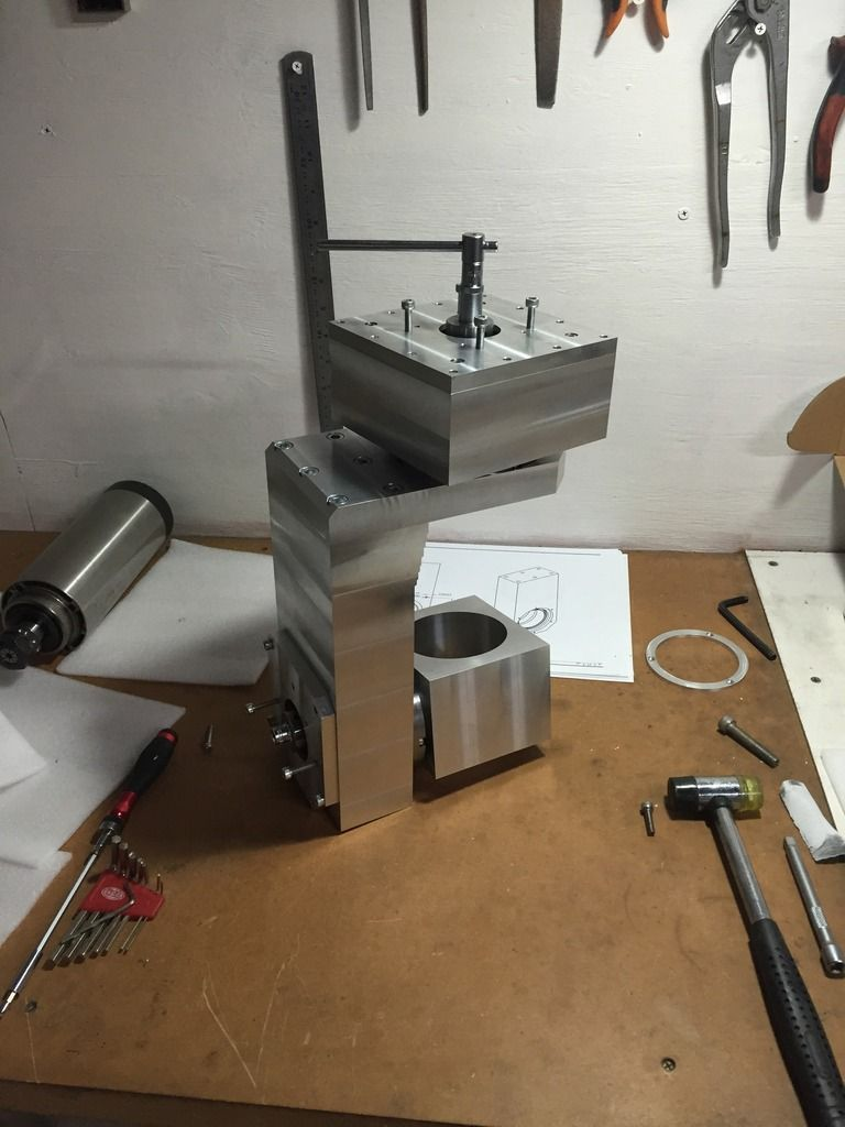 "5 Axis CNC Plastic Cutting Router ""The CutaRouterer"""