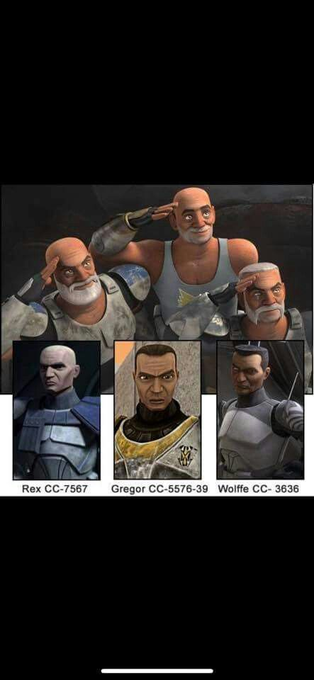awwwwwww i literally just found out that rex survived order 66 by