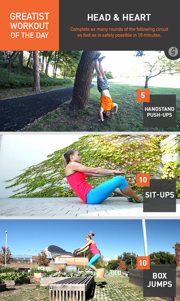 Greatist Workout of the Day: Friday, May 2nd