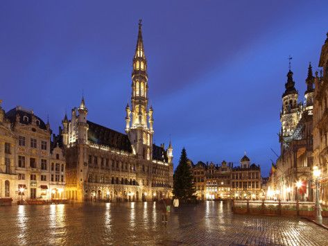 The Town Hall French Hôtel De Ville Of City Brussels Is