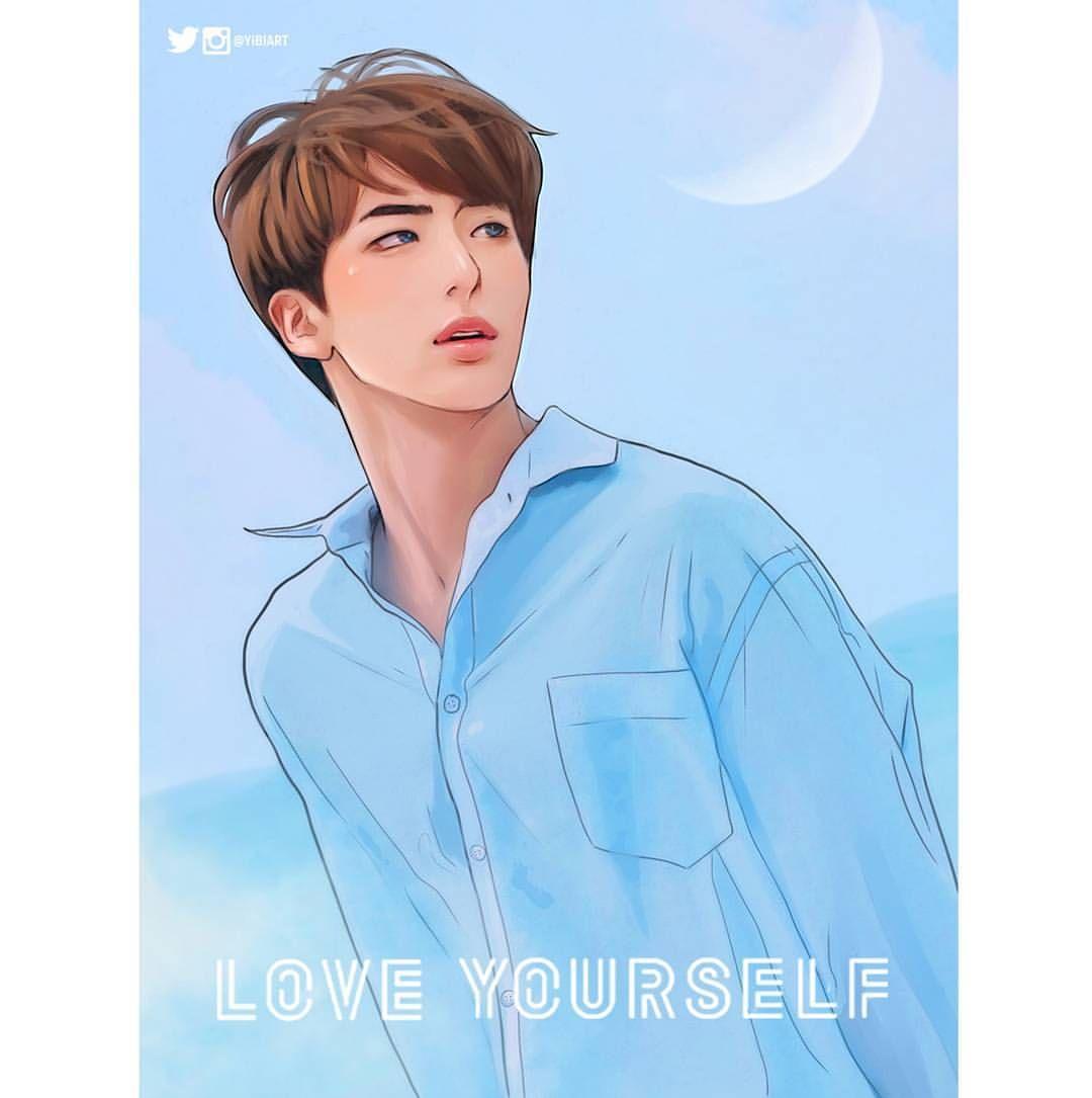 #BTS #방탄소년단 #LOVE_YOURSELF Poster #JIN #BTSfanart