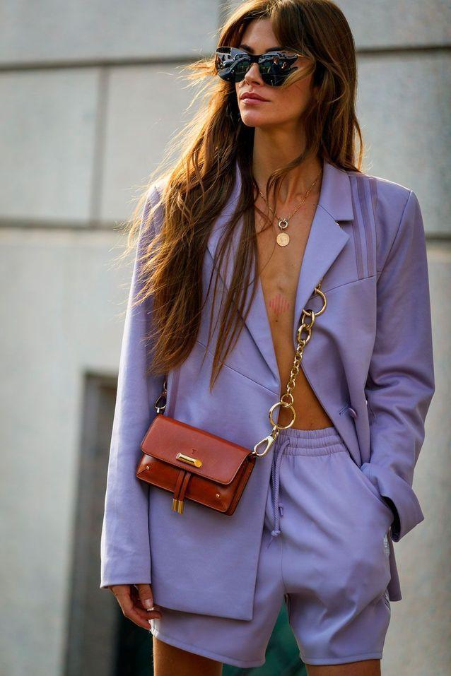 Milan Fashion Week: et si nous nous inspirions du street style pour trouver quelques idées de mode à adopter maintenant – Elle   – Purple Fashion Style