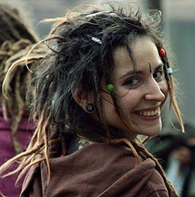 happy happy happy! dreadlocks hippie Dreadlock