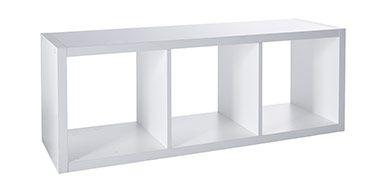 tag re modulable 3 cases coloris blanc mixxit castorama tag res modulables et modulable. Black Bedroom Furniture Sets. Home Design Ideas