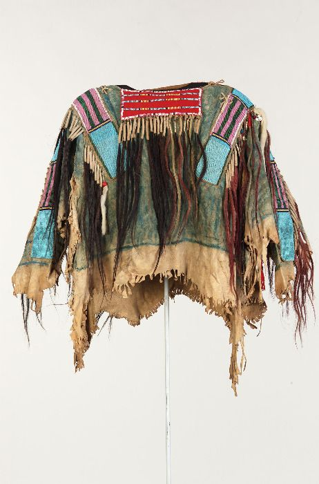 Crow artifacts little bighorn history alliance www for Vetements artisanat indien