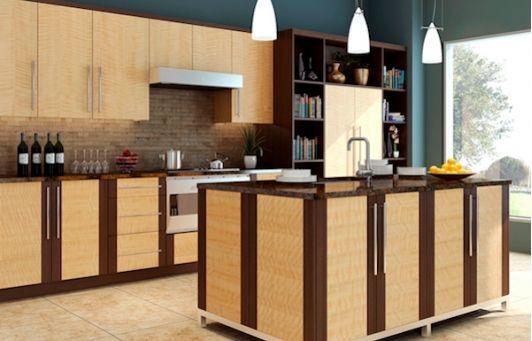 Frameless kitchen with European style cabinets | Kitchen ...