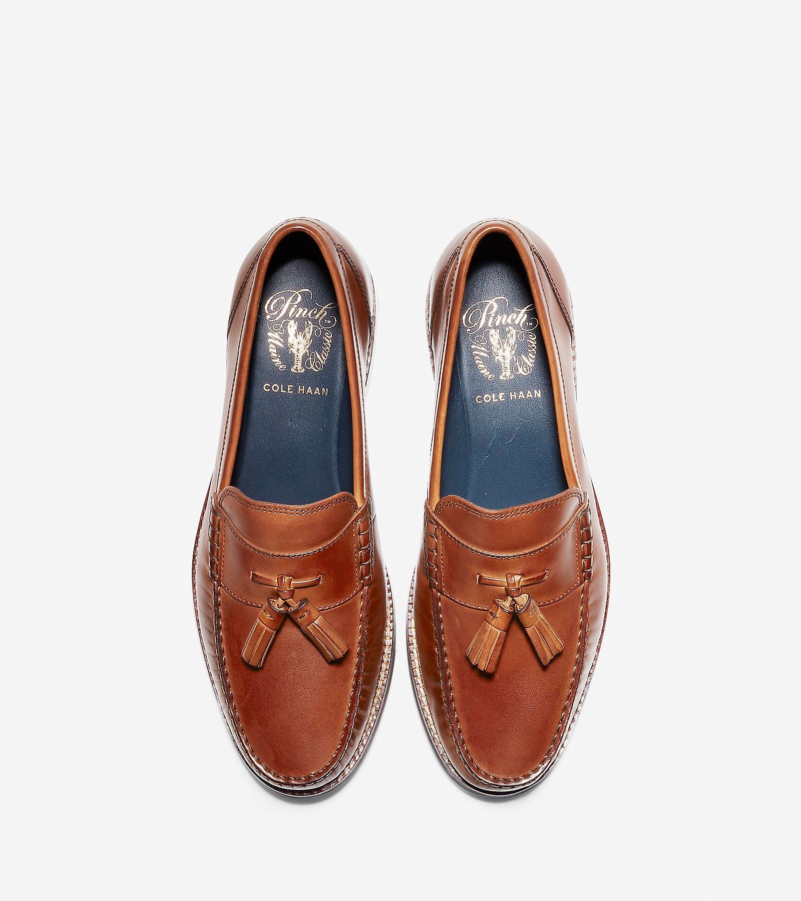 b31dc89bfe5 Cole Haan Men s Pinch Grand Classic Tassel Loafer - British Tan 8 W Wide