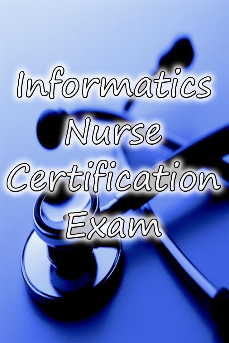 Candidates Who Pass The Informatics Nursing Examination Are Awarded