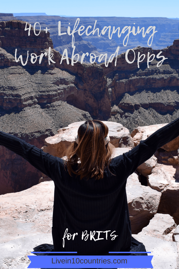 40+ tempting work abroad programmes for Brits [save hours of
