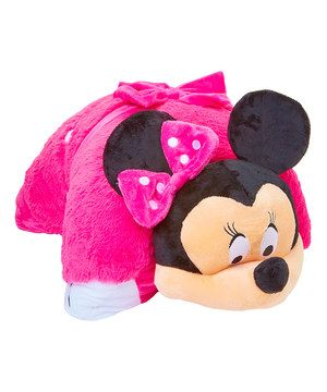 Another Great Find On Zulily Minnie Mouse Jumbo Plush Pillow Pet By Disney Zulilyfinds Animal Pillows Plush Pillows Minnie Mouse Nursery