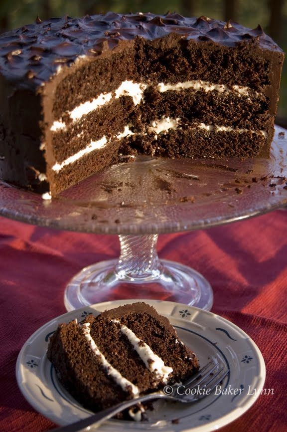 Triple Chocolate Birthday Cake Mayo