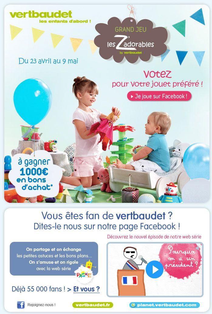 Newsletter Vertbaudet 05.05.2012