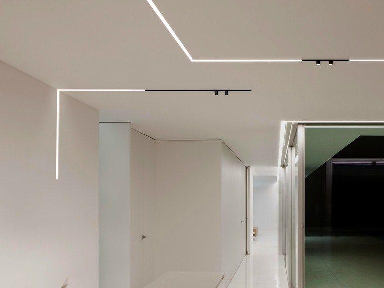 Profilo per illuminazione per moduli led the running magnet by