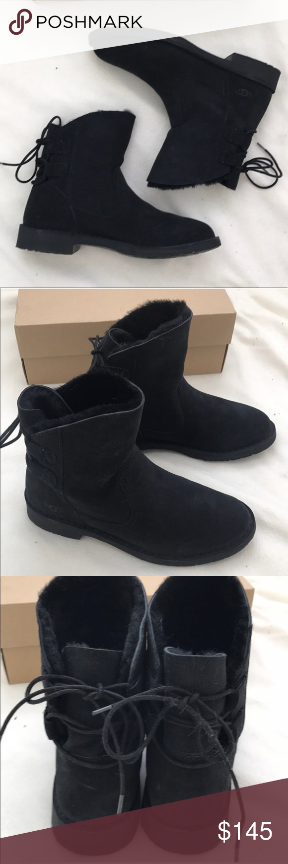 3e2f6d378af Brand new authentic Black UGG Naiyah boots New in box UGG Shoes ...