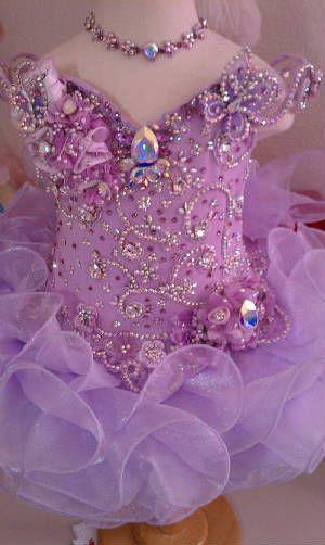 national Glitzy beauty Pageant dresses, Custom made