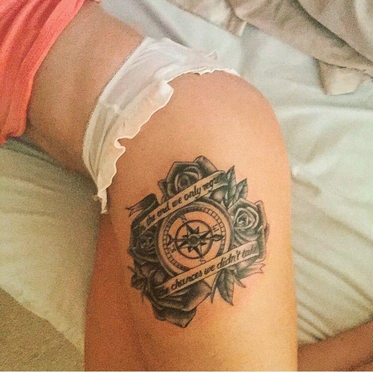 c3a120ad9b731 Compass rose quote tattoo | Tattoos | Tattoo quotes, Tattoos, Tattoo ...
