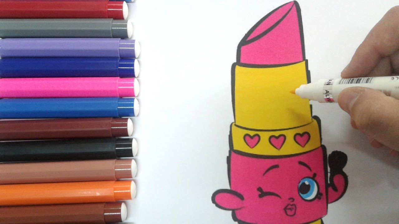 Coloring Pages Shopkins How To Color Shopkins Lippy Lips Coloring Pages Coloring Pages For Kids Coloring Pages For Kids Shopkins Lippy Lips Coloring Pages