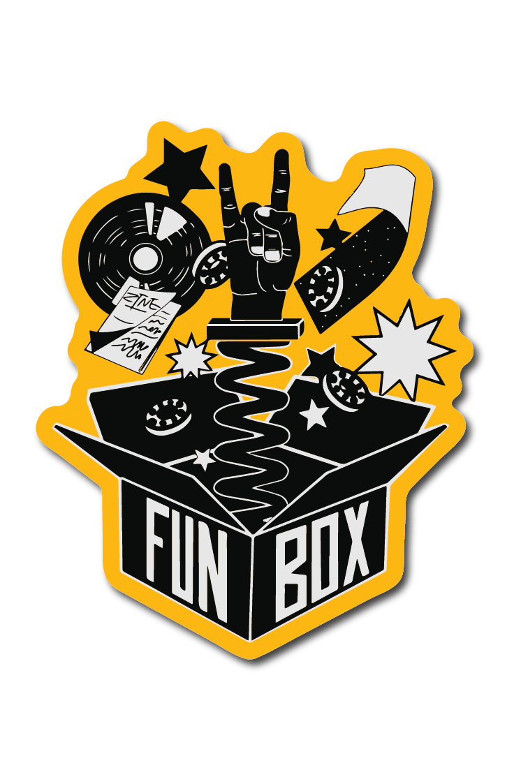 A box of fun just for skateboarders sports skateboard