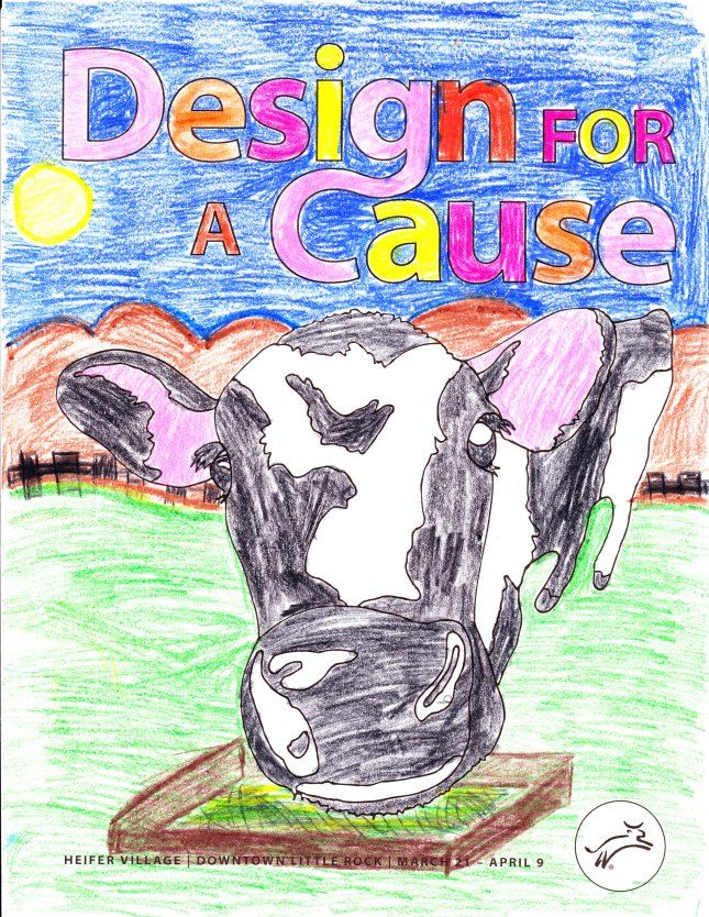 From Mr. Crader's Blog: Last week, I was notified that Dhairya had won 3rd place for the 4th grade division of the Design for a Cause contest sponsored by Heifer International. Her artwork will be displayed at Heifer's headquarters for the next two weeks. Way to go! We are very proud of you!!!