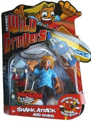 New!!! Wild Grinders Jay Jay Skate Spot Rob Dyrdek/'s Old Fridge Fun Box