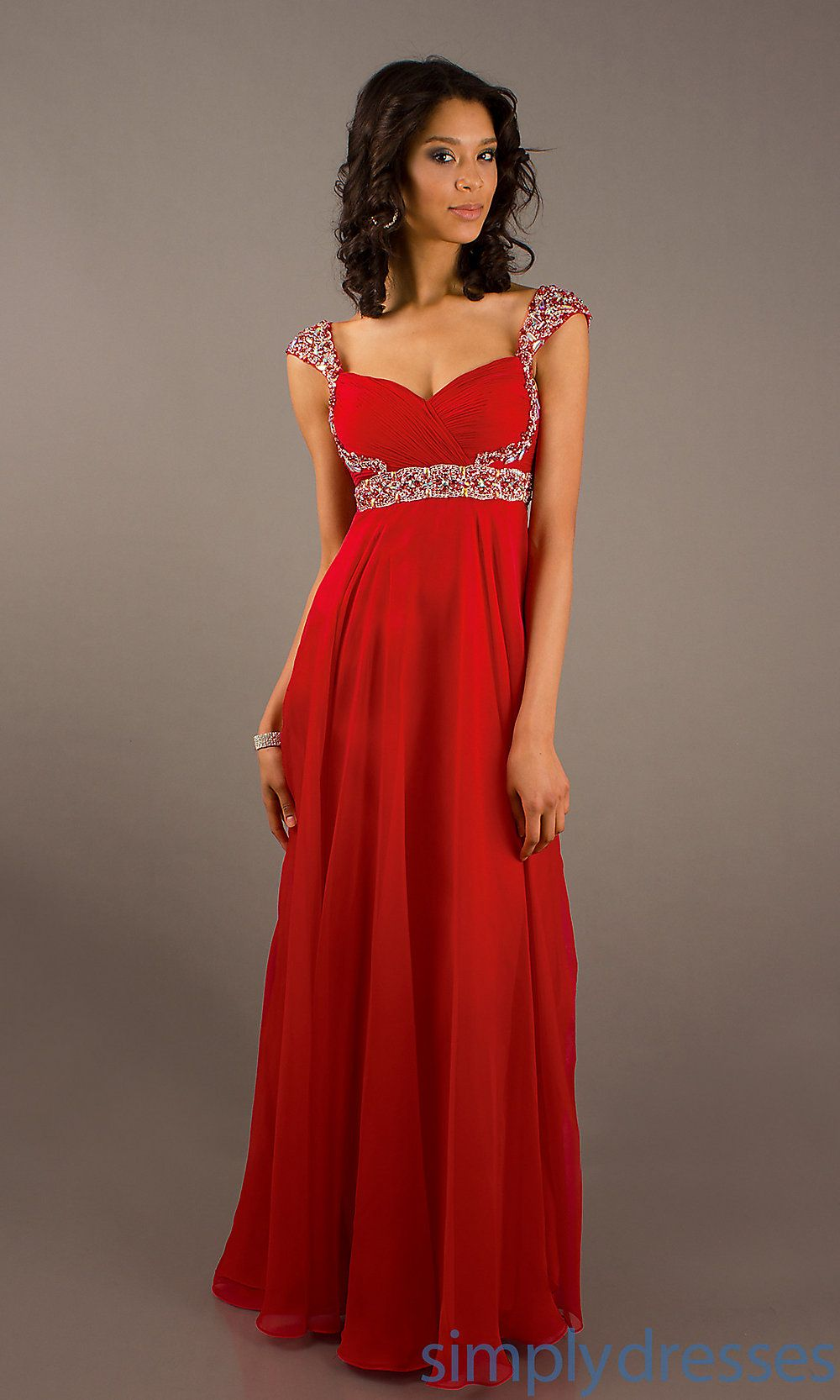 red long dresses - Buscar con Google