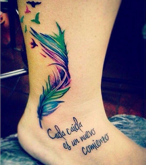 Cada Caída Es Un Nuevo Comienzo Ideas De Tatuajes Tattoos