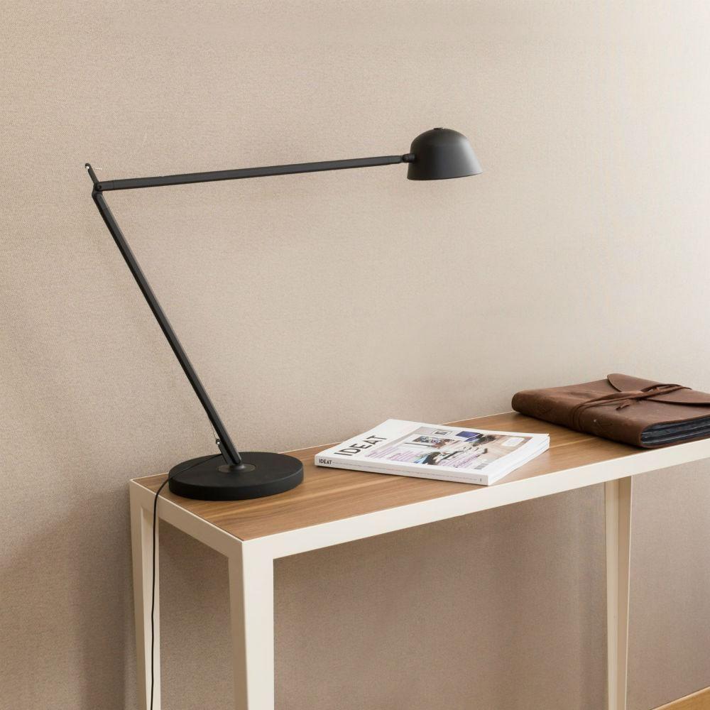 Led H70cm Lampe Noirrouge Baia Articulée Kos Bureau Lighting De N0wmnO8v
