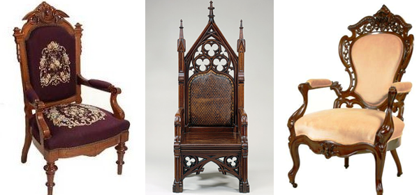 revival furniture These concurrent revival styles, including Gothic revival,  Neoclassicism and Rococo revival became - Revival Furniture These Concurrent Revival Styles, Including