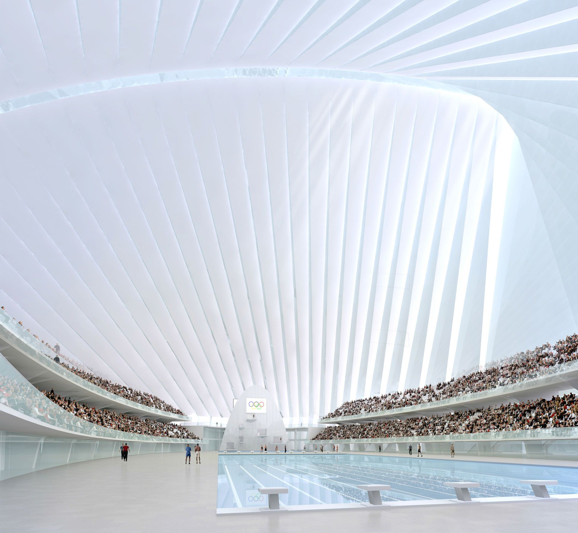 Calatrava Olympic Sports plex Athens Greece The layout of the plex was inspired by Greece s classical tradition of stoa like entrance p…