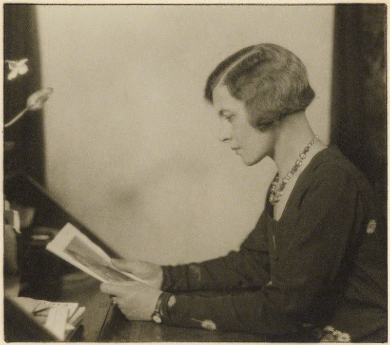 Hilda Matheson (1888-1940). As the BBC's first Director of Talks, she transformed the airwaves, bringing to the wireless intellectual heavyweights such as HG Wells, Bernard Shaw and the woman who would become her lover, the novelist Vita Sackville-West. http://www.bbc.co.uk/radio4/womanshour/timeline/hilda_matheson.shtml