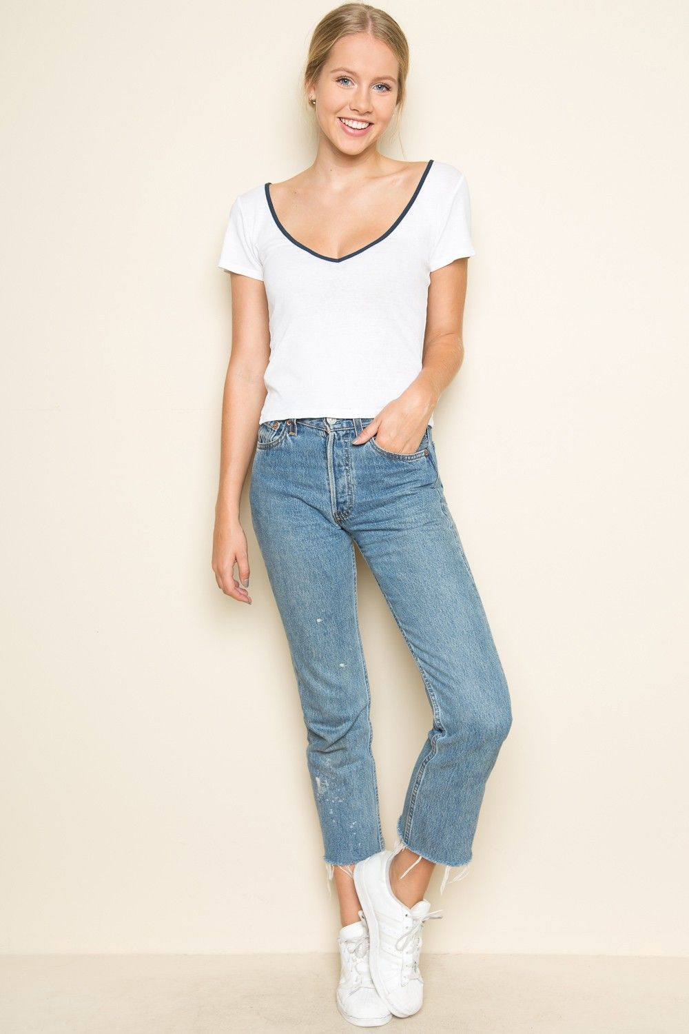 Favoloso Brandy ♥ Melville   Billie Top - Clothing   New Arrivals  KP85