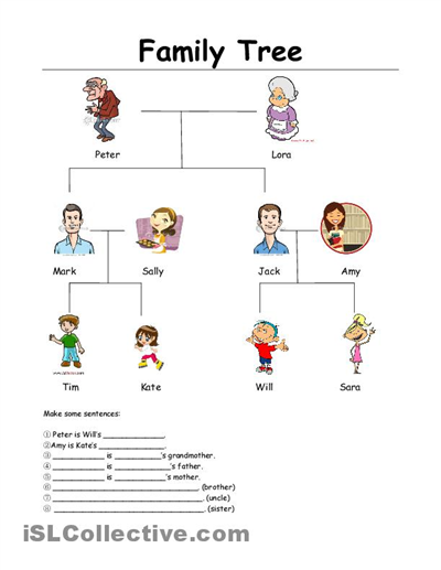 math worksheet : my family tree worksheets  family tree family tree template  : Family Worksheets Kindergarten