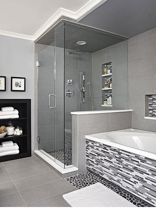 40 banyo modelleri g rselleri banyo modelleri 2018 badezimmer bad badewanne. Black Bedroom Furniture Sets. Home Design Ideas