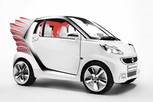 #Jeremy Scott Gives Smart Electric Car A Makeover - DesignTAXI.com