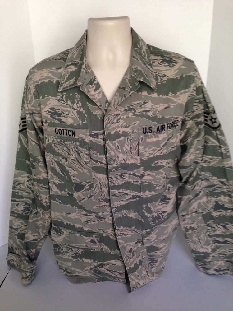 Women/'s US Air Force Sz 8R Camouflage Coat Utility Nylon Cotton Jacket