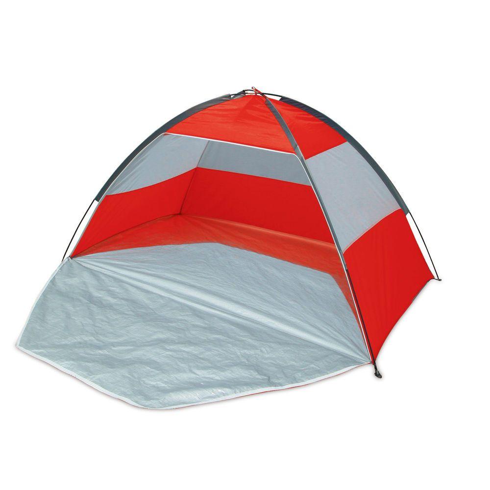 WIlton Bradley Beach Tent Red UPF 40 Sun Protection Shelter