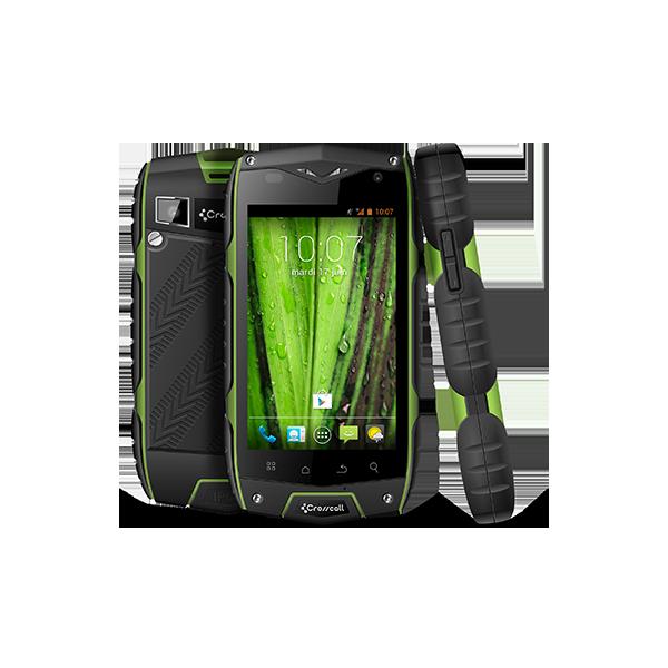 Smartphone CrossCall Odyssey+ Noir Vert