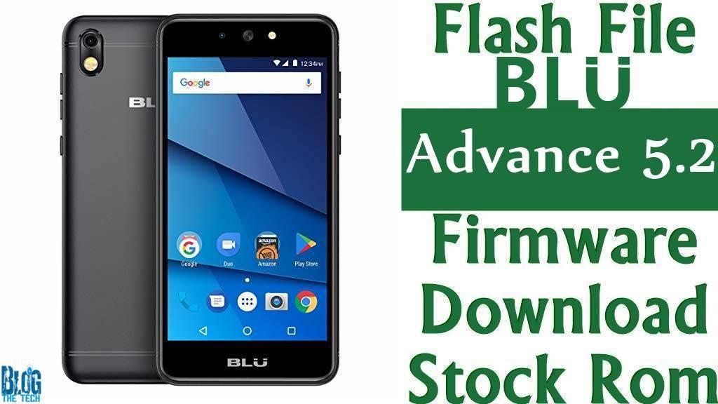 Flash File] BLU Advance 5 2 A230Q Firmware Download [Stock