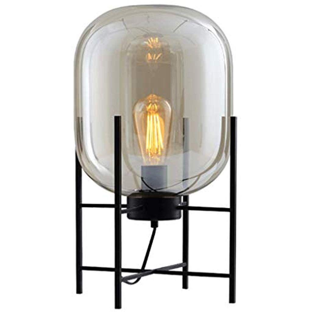 Stehleuchten Innenbeleuchtung Standleuchten Moderne Nordic Stehleuchte Loft Glaskugel Tischleuchte Schreibtischlam Schreibtischlampe Innenbeleuchtung Stehlampe