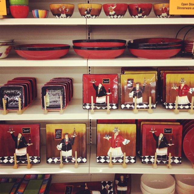 I Will Own The Full Set Of Fat Chef Bistro Dishes From Fred Myers! : Chef  Kitchen DecorKitchen ...