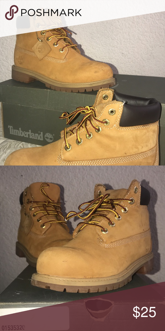 be9ab6b97d8 Timberland boots Size 3Y , good condition , original color ...