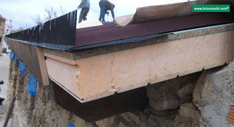 Onduline bajo teja precio impermeabilizacion for Tejados de madera con teja