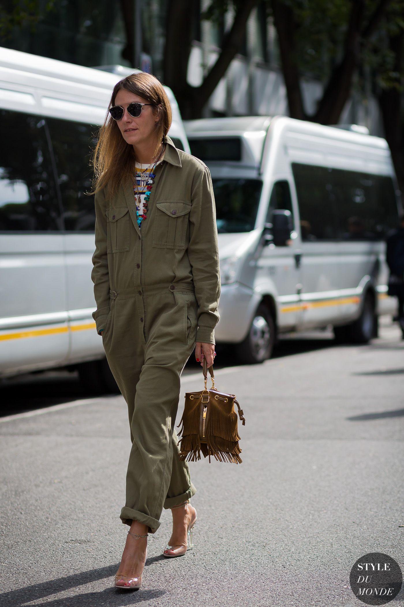 Aurora Sansone Street Style Street Fashion Streetsnaps by STYLEDUMONDE Street Style Fashion Photography