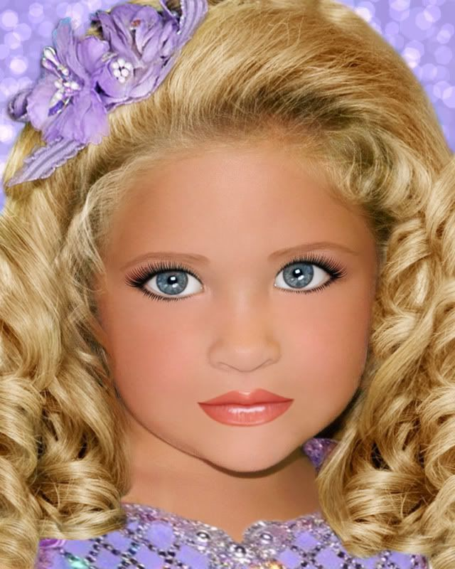 How to Create Glitz Pageant Hairstyles in 17 Steps...the child ...