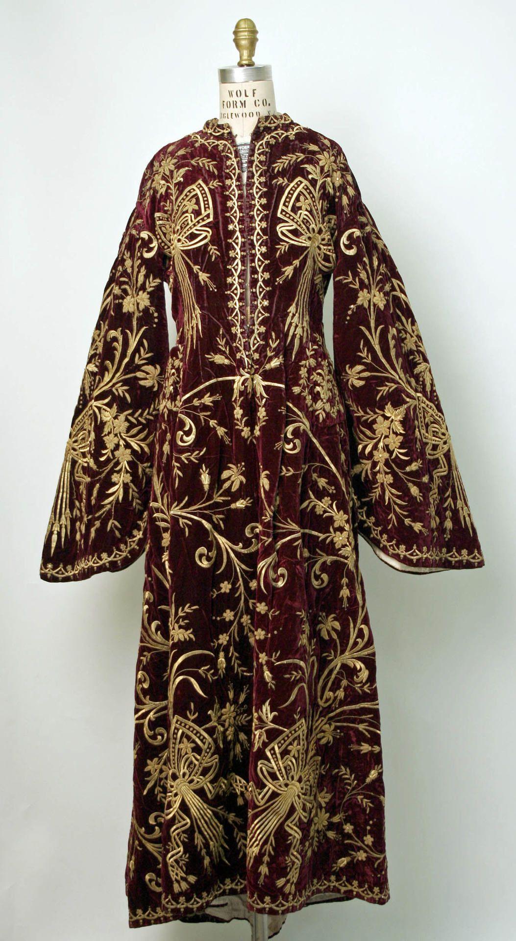 Ottoman robe th century wear pinterest ottomans robe and